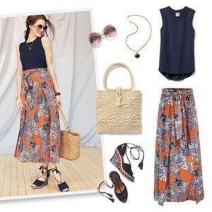 Cabi Calypso Skirt Paradise Floral #5250  •  i19Dr